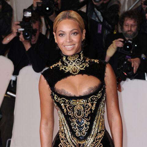 Beyoncé, Kate Moss se parent d'or