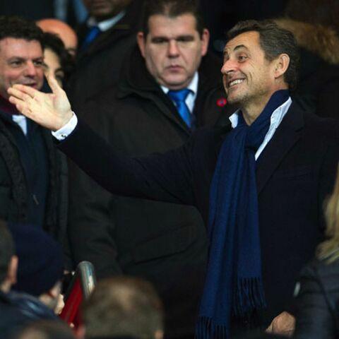 Nicolas Sarkozy premier supporter du PSG