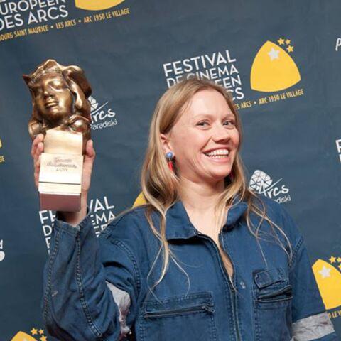 Lucie Borleteau, femme de cinéma 2014 pour Sisley