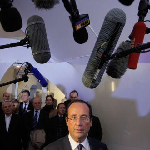 François Hollande en a (déjà) assez des journalistes