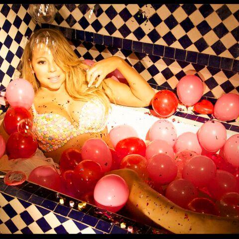 Mariah Carey: Saint-Valentin sucrée en petite tenue