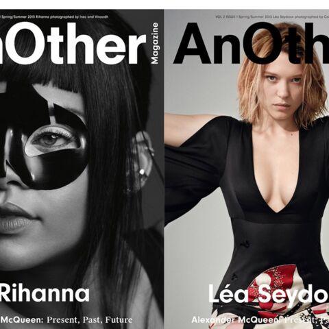 Rihanna et Léa Seydoux, muses McQueen