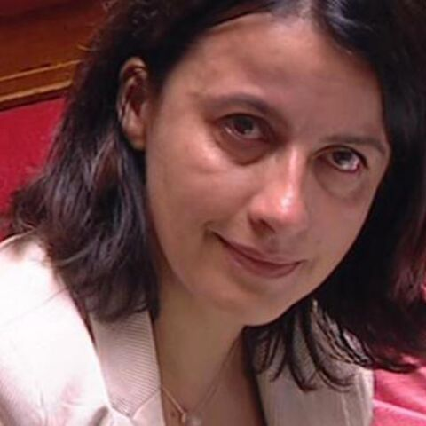 Cécile Duflot en larmes sur les bancs de l'Assemblée