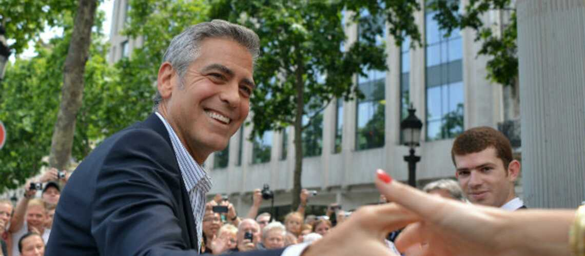 Photos- George Clooney, opération séduction à Paris