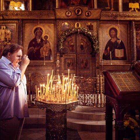 Trois jours à Moscou avec Gérard Depardieu