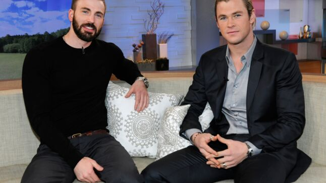 Chris Hemsworth et Chris Evans se livrent au sujet d Avengers  Age of Ultron 117810f01dd6