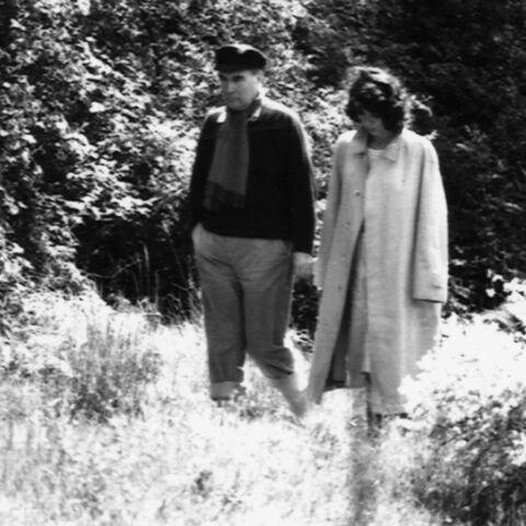 François Mitterrand: ses lettres d'amour à Anne Pingeot bientôt publiées