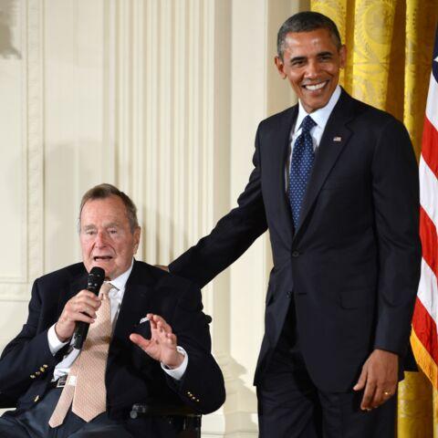 George H. Bush hospitalisé après une violente chute
