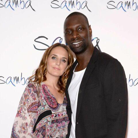 Omar Sy à New-York avec son épouse pour présenter Samba