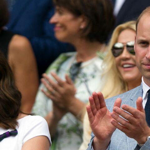 PHOTOS – Kate Middleton radieuse en robe blanche et fleurie pour la finale de Wimbledon