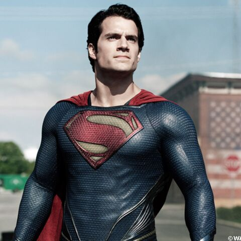 Henry Cavill dans la peau de Clark Kent