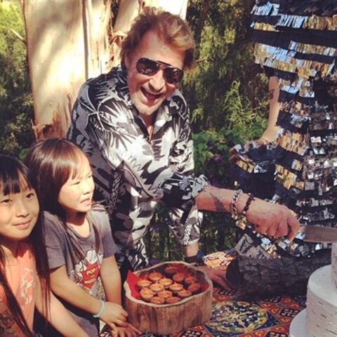 Johnny Hallyday, un anniversaire en famille
