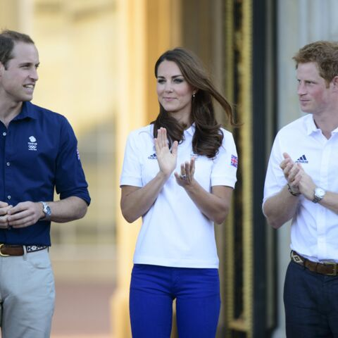 Kate, William et Harry fans de la petite reine