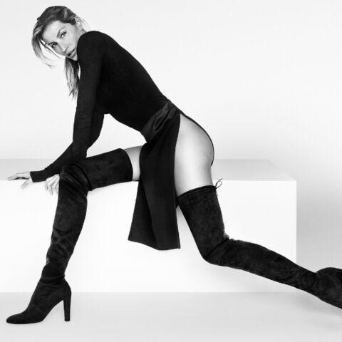 Gisele Bündchen affiche ses gambettes