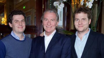 Déjeuner en famille pour William Leymergie et ses fils Gery et Sacha