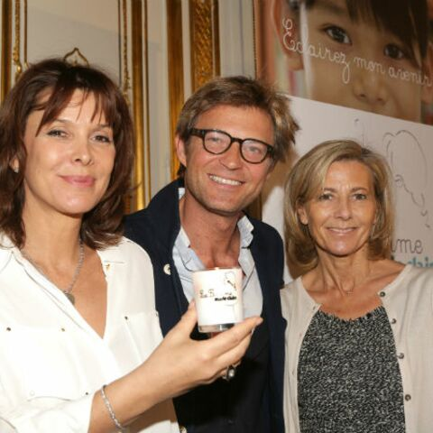 Claire Chazal et Laurent Delahousse fidèles à la flamme Marie-Claire