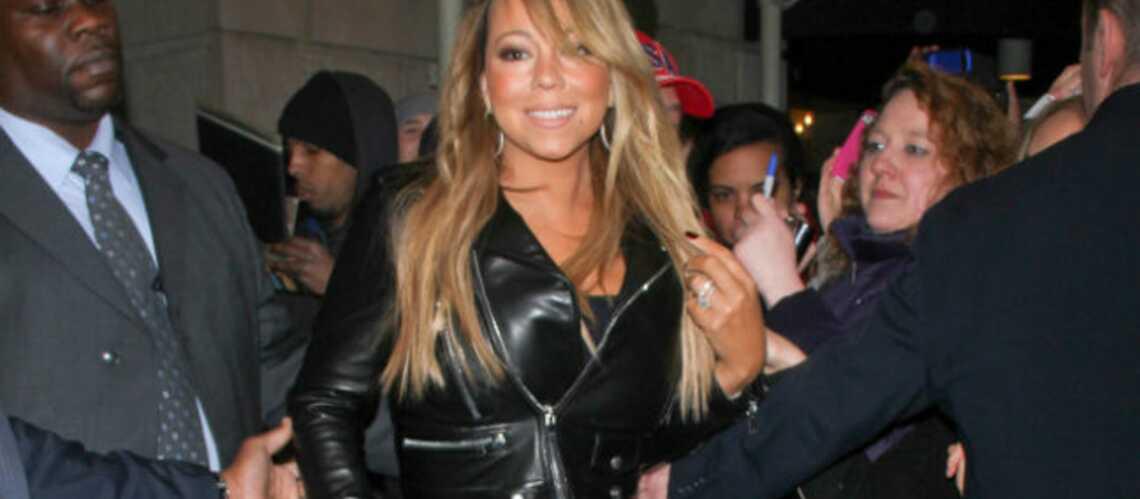 Mariah Carey, sa robe lui fait faux bond