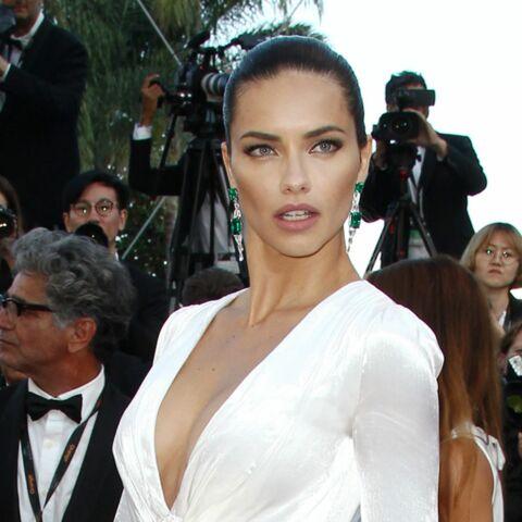 Cannes 2016 – Adriana Lima, décolleté plongeant sur red carpet