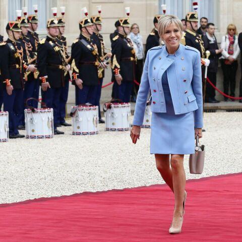 La tenue Louis Vuitton de Brigitte Macron bientôt au musée?
