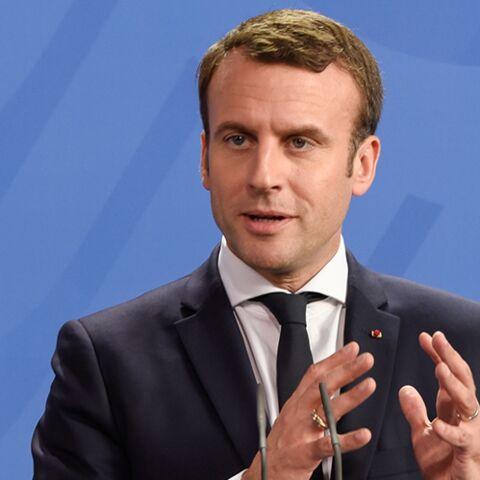 """PHOTO – Emmanuel Macron fait un """"dab"""" après son investiture à l'Elysée"""