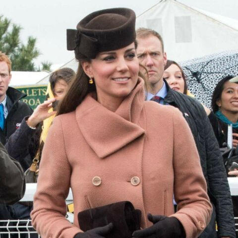 Kate Middleton: en rose à Cheltenham