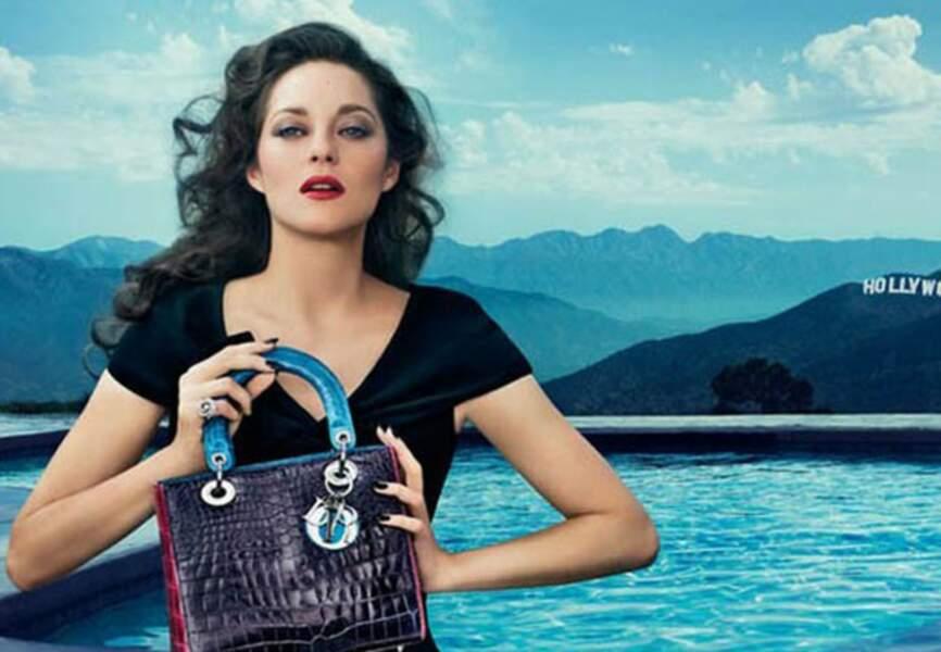Sublime Marion Cotillard pour Lady Dior