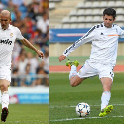 Coach Zidane fait débuter son fils Enzo chez les professionnels