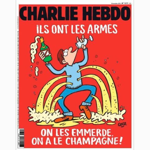 """Charlie Hebdo: """" On les emmerde, on a le champagne!"""""""
