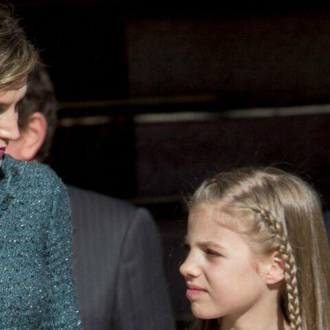 PHOTOS – Un joli moment de complicité entre Letizia d'Espagne et sa fille Sofia