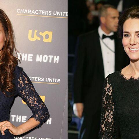 PHOTOS – Meghan Markle et Princesse Kate: qui porte le mieux la dentelle?