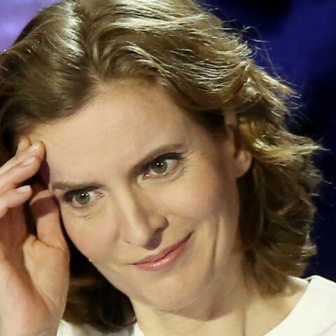 VIDEO – Débat TF1: Quand NKM «se tortille» pour apparaître derrière François Fillon