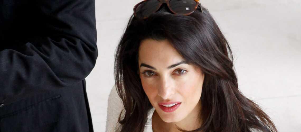 Amal Alamuddin bat princesse Kate à plate couture