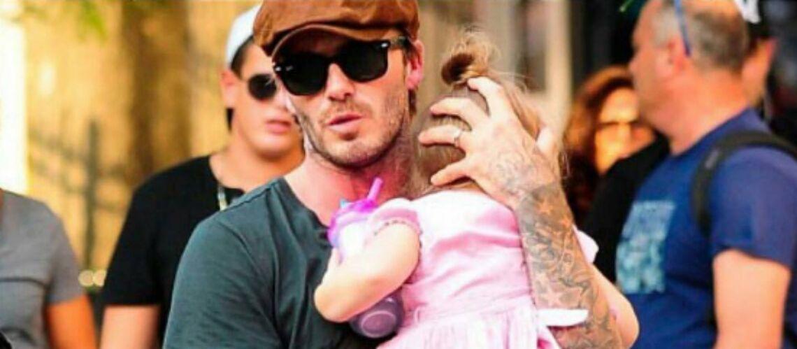 VIDEO – David Beckham au concert de Justin Bieber: sa fille Harper en transe