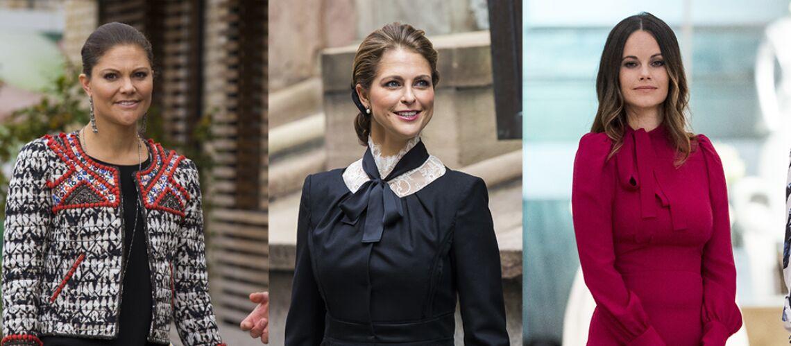 Victoria, Madeleine et Sofia: nouvelles reines du style