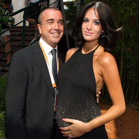 Jade Foret et Arnaud Lagardère sont parents