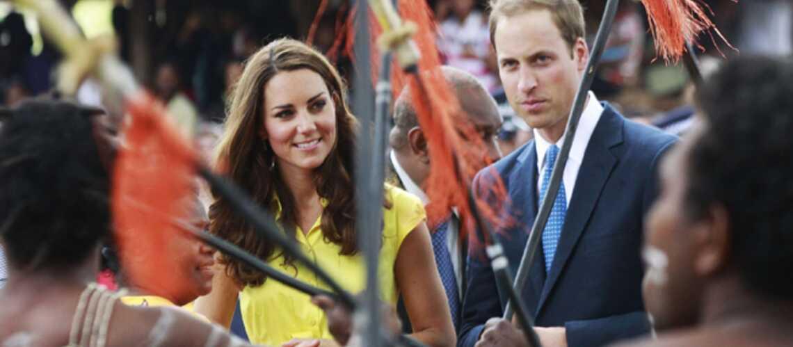 Photos – Kate et William, stars des îles Salomons