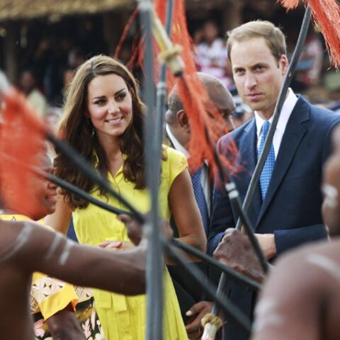 Photos – Kate et William, stars des îles Salomons
