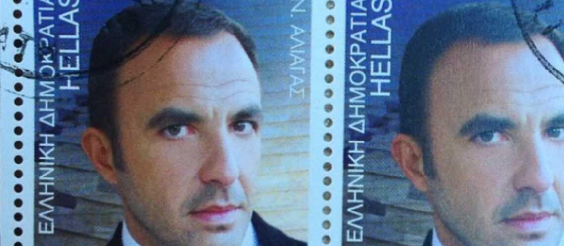 Nikos Aliagas reçoit une distinction complètement timbrée