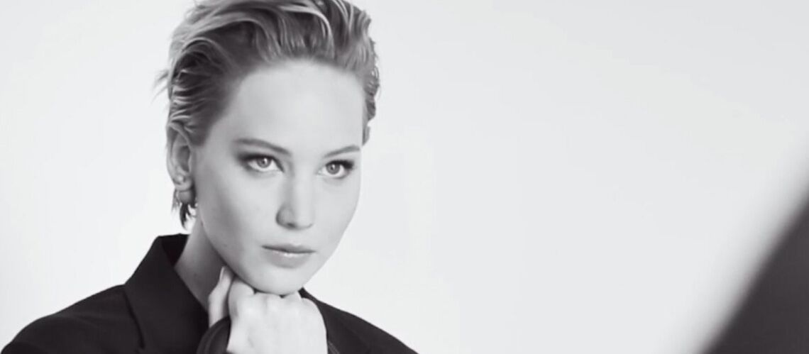 Jennifer Lawrence, chic pour Dior