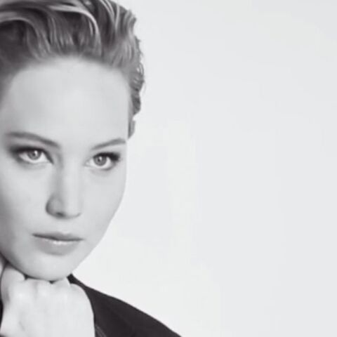 Jennifer Lawrence, chic pour Dior