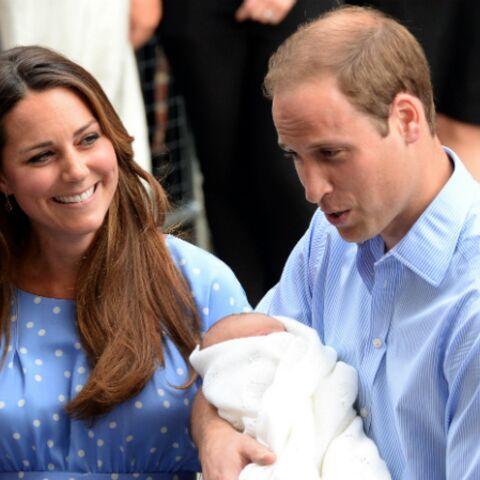 Kate Middleton et le prince George rejoignent William