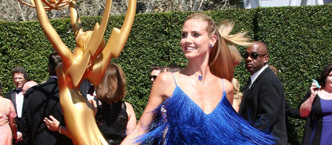 Heidi Klum, l'ouragan bleu