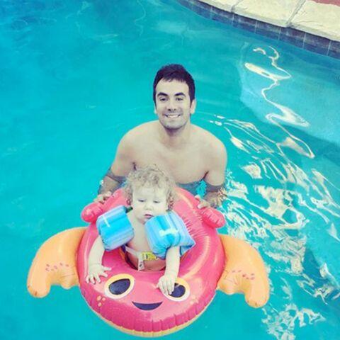 Photo – Alex Goude en vacances avec son fils