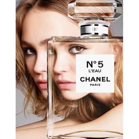 Lily-Rose Depp visage de la nouvelle fragrance Chanel