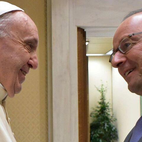 Photos – François Hollande en visite au Vatican