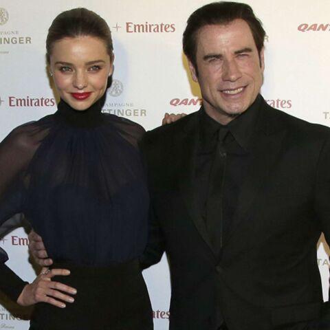 Miranda Kerr sous l'aile de John Travolta