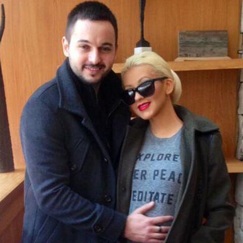 Christina Aguilera, plus enceinte que jamais