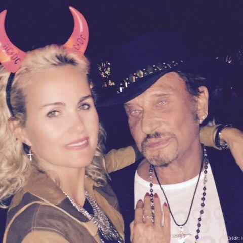 Johnny et Laeticia Hallyday heureux à Coachella
