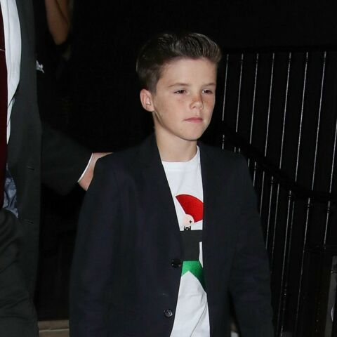 Cruz Beckham future pop star ?