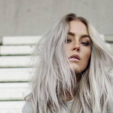 Coloration grise: osez la tendance cheveux du moment
